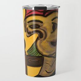 Thoughts of Picasso Travel Mug