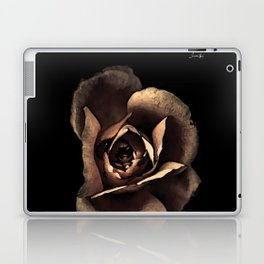 Rose noire colors fashion Jacob's Paris Laptop & iPad Skin