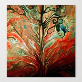 Surreal tree Canvas Print