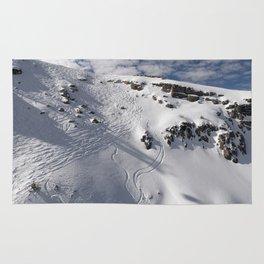 Ski Slopes Rug