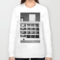 Architecture of Impossible_Como Le Corbusier Long Sleeve T-shirt