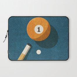 BILLIARDS / Ball 1 Laptop Sleeve