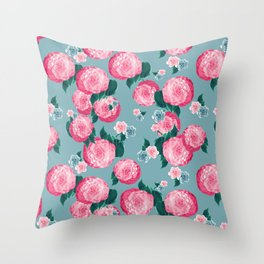 Spring Floral Dream #3 #decor #art #society6 Throw Pillow