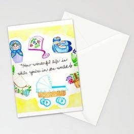 Wonderful Baby Stationery Cards
