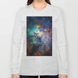 Lagoon Nebula / Second Version Long Sleeve T-shirt