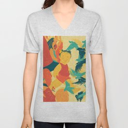 And A Little Girl Who Only Wished To Fly Unisex V-Neck