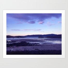 Sunset at  Loch Eil Art Print