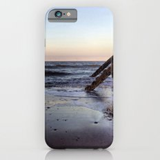 Withernsea Groynes at Sunset iPhone 6s Slim Case