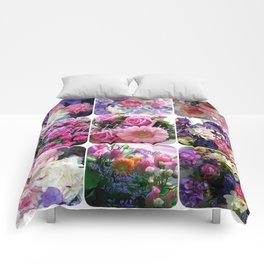 photo, nature, illustration, flowers Comforters