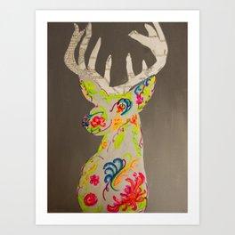 program deer Art Print