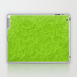 Lime green 3D carpet texture Laptop & iPad Skin
