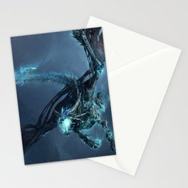Scary Dragon Stationery Cards