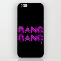 minaj iPhone & iPod Skins featuring BANG BANG by Joe Alexander