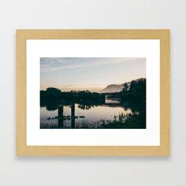 Oregon Sunrise Framed Art Print