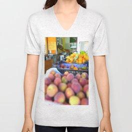 Fresh Fruit Unisex V-Neck