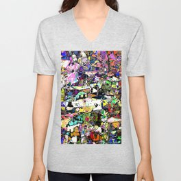 Chaos In Color Unisex V-Neck