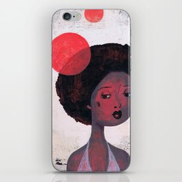 AFRO PSYCHE iPhone Skin