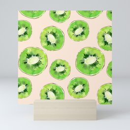 Kiwis pattern Mini Art Print