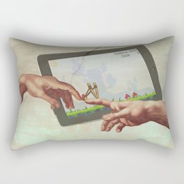 Angry Birds Hand of God Rectangular Pillow