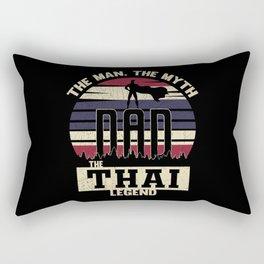 The Man The Myth The Thai Legend Dad Rectangular Pillow