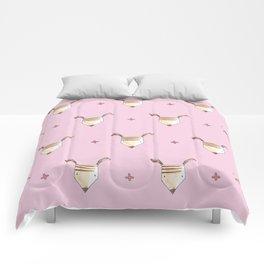 Pencil Head Comforters