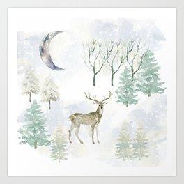 Winter Landscape Kunstdrucke