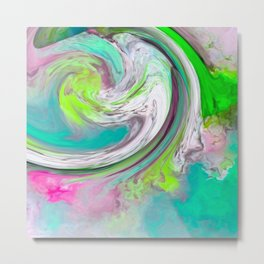 A Colorful Blend 2 Metal Print