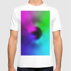 Warp Eye MEDIUM White Mens Fitted Tee
