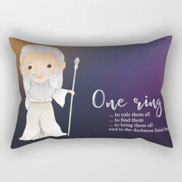 One ring Rectangular Pillow