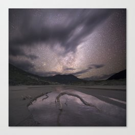 Starry night at Wilsons Promotory Canvas Print