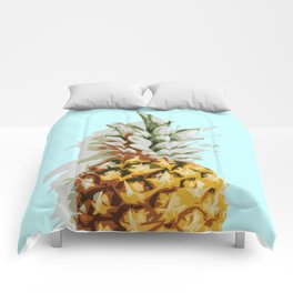 Summer Pineapple Comforters