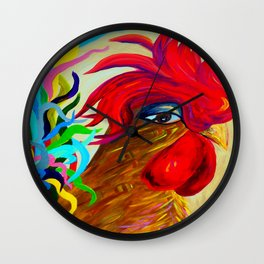 Just Plain Silly 2! Wall Clock