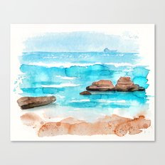 oceanview Canvas Print