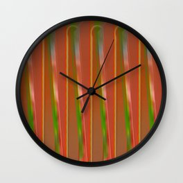 The other fence Wall Clock