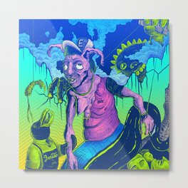 Perplex rabbit Metal Print
