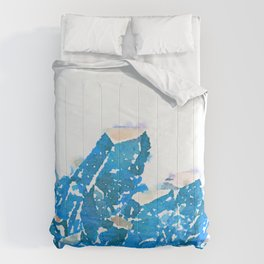 Blue Crystal  Comforters