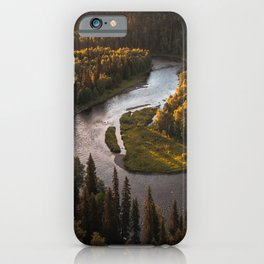 Nordic Forest River iPhone Case