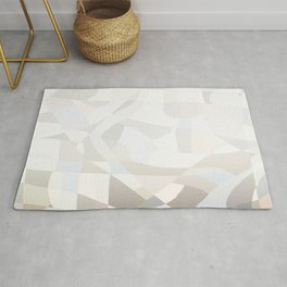 Harlequin Patchwork Faded Background Rug