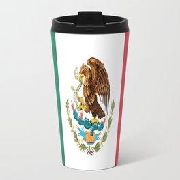 Flag of mexico- mexico,mexico city,mexicano,mexicana,latine,peso,spain,Guadalajara,Monterrey Travel Mug