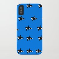 orca iPhone & iPod Cases featuring Orca by Whimsy Notions Designs