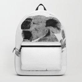 Yawning koala bear Backpack