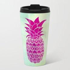 Pink Pineapple Travel Mug