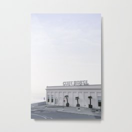 Calm Morning at the San Francisco Cliff House Metal Print