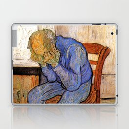 At Eternity's Gate by Vincent van Gogh Laptop & iPad Skin