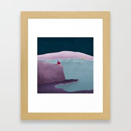 Simple Housing | So close so far away Framed Art Print