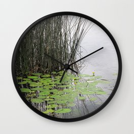 Lillypad tranquility Wall Clock