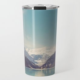 Lake Louise - Mountain Landscape, Nature Photography Travel Mug