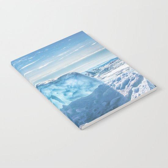 Pressure ridge of lake Baikal Notebook