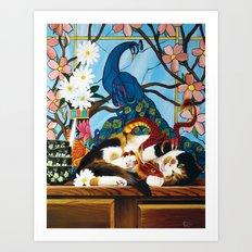 Callie Art Print