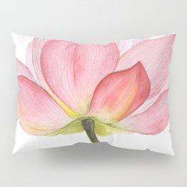 Pink lotus #2 Pillow Sham